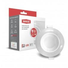 Светильник светодиодный MAXUS 3-step 9W 3000/4100K круглый (1-MAX-01-3-SDL-09-C)