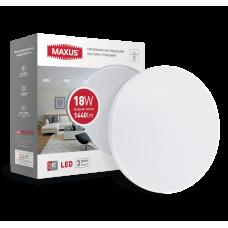 Светодиодный светильник накладной MAXUS 18W 4100K