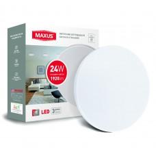 Светодиодный светильник накладной MAXUS 24W 4100K