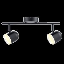 Точечный светильник MAXUS MSL-01C 2x4W 4100K (черный)